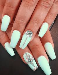 mint green nail art thefreshestnailart i love the colour and the
