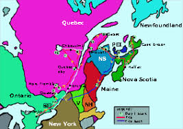 map east coast canada map of canada east coast major tourist attractions maps