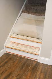 from carpet to hardwood how to easily transform your stairs