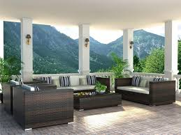 Wicker Rattan Patio Furniture - rattan patio furniture appearance and settings home design by fuller