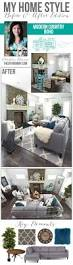 my home style before and after modern country boho farmhouse