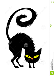 halloween cats background halloween creepy scary witches cat vector symbol icon design