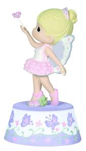 amazon precious moments ballerina resin music box 124110