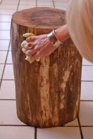 tree trunk end table stumped how to make a tree stump table tree stump table stump