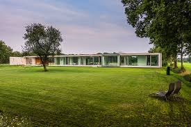 one storey house one storey house designed within the landscape contex villa sterk