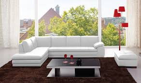 White Italian Leather Sectional Sofa 625 Italian Leather Sectional Sofa In White Free Shipping Get