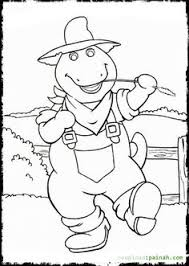 barney friends coloring pages coloring pages