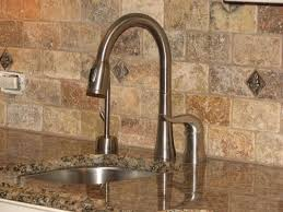 Brown Subway Travertine Backsplash Brown Cabinet by Travertine Subway Tile Backsplash Re Show Me Your Travertine