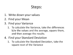 standard deviation used to find out if a value is significantly