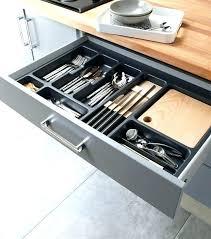 tiroir de cuisine sur mesure tiroir de cuisine sur mesure rangement pour tiroir de cuisine les