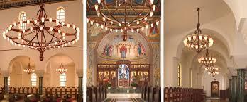 Church Chandelier St George Orthodox Church Crenshaw Lighting