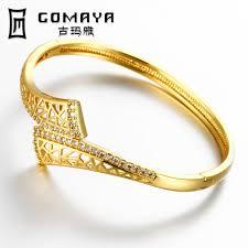 gold bangle bracelet design images Christmas new designed bracelets bangle gold color trend round jpg