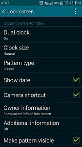 samsung galaxy s5 lock screen apk unlock effect missing from my lock screen settings android