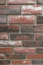 Faux Brick Kitchen Backsplash by Faux Brick Wall Home Depot Fabulous Red Charcoal Concrete