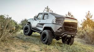 jeep wrangler jacked up the rezvani tank would get you through the zombie apocalypse just