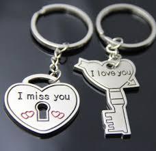 love key rings images Love heart lock and key silver metal couple keyrings lovers puzzle jpg