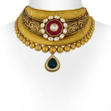 collar gold necklace images Gold necklace antique collar gold choker set jpg