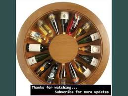 wooden wine rack ideas wood wine rack cabinet youtube