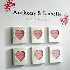 picture frame wedding favors mini magnet back aluminum heart photo frames