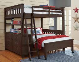 bedroom beautiful nielsen full size storage loft bed our nielsen