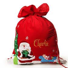 best 25 personalised santa sacks ideas on