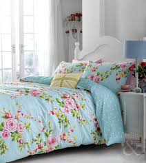 Amazon Duvet Sets Catherine Lansfield Vintage Floral Duvet Cover Set Single Blue