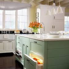 how to paint kitchen cabinets a burst of beautiful love the burst of color from the island kitchen ideas