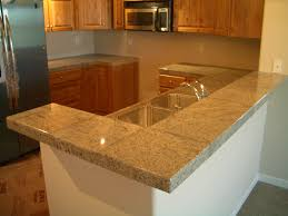 Tile Kitchen Countertop Designs Granite Tile Bar And Kitchen Countertop Countertops Pinterest