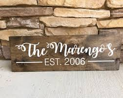 wooden sign etsy