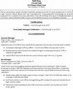 Bar Manager Resume Sample by Bartending Resume Templates With No Experience Pictures To Pin On