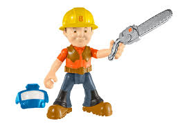 fisher price bob builder lumberjack bob action figure