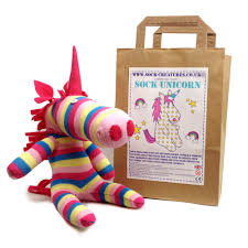 sock unicorn craft kit amazon co uk toys u0026 games