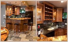 Copper Backsplash Ideas Home Bar Rustic With Wine | corner sink exle for our wet bar basement pinterest