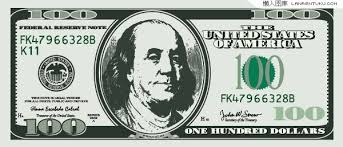 10 100 dollar bill vector images hundred dollar bill vector 100