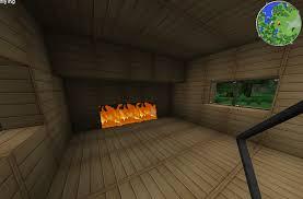 minecraft fireplace binhminh decoration