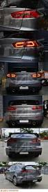 lexus is300 tail lights jdm varis smoked red 3d led tail lights for mitsubishi lancer cj