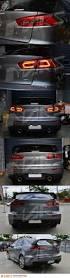 lexus is300 tail lights jdm varis smoked red 3d led tail lights for mitsubishi lancer cj