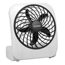 held battery operated fans o2cool 5 in battery operated portable fan fd05004 the home depot