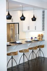 Black Pendant Lights For Kitchen Stools With Backs Kitchen Contemporary With Arteriors Stools Beige