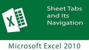excel user interface sheet tabs and its navigation youtube