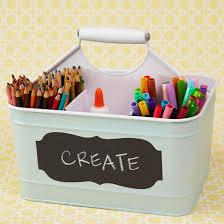 How To Decorate A Tin Best 25 Crayon Storage Ideas On Pinterest Kids Storage