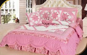 Pink Bedding Sets Amazon Com Dada Bedding Bm928l 1 5 Piece Patchwork New Girly