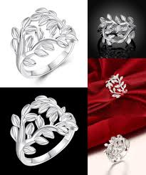 visit to buy jexxi 925 sterling silver tree and leaves design