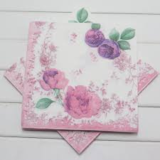 cheap wedding napkins get cheap wedding napkins print vintage flower paper