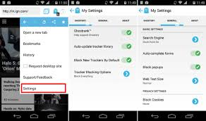 ghostery android ghostery browser for android blocks trackers of websites