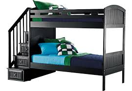 Black Bunk Beds Cottage Colors Black Step Bunk Bed Beds Colors