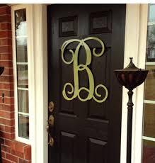 Home Decor Letters Metal by Door Hanger Summer Door Decor Large Metal Letters Metal