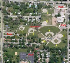 Baseball Map Home Facilities Directions Grandville Little League