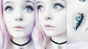 doll eye makeup youtube