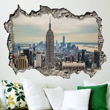 Photo Mural Wallpaper by Walplus Wall Stickers New York Sunrise Mural Art Decals Vinyl Home